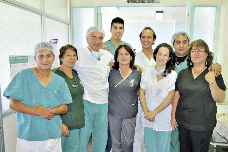 Amplio operativo quirúrgico de MATER en San Antonio