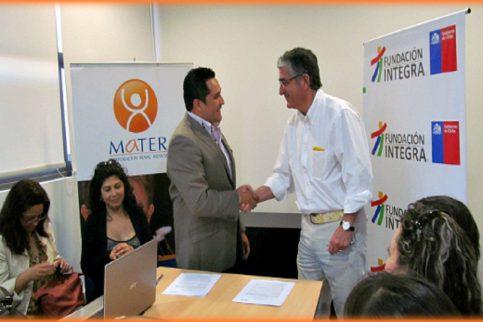 Thumbnail - Nuevo convenio entre MATER y Fundación Integra