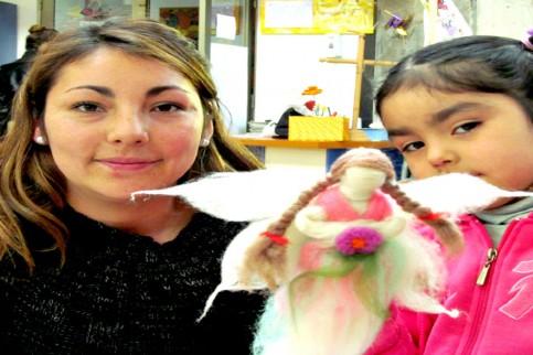 Thumbnail - Nuevos talleres en Mater: aprendimos a hacer Hadas de Fieltro