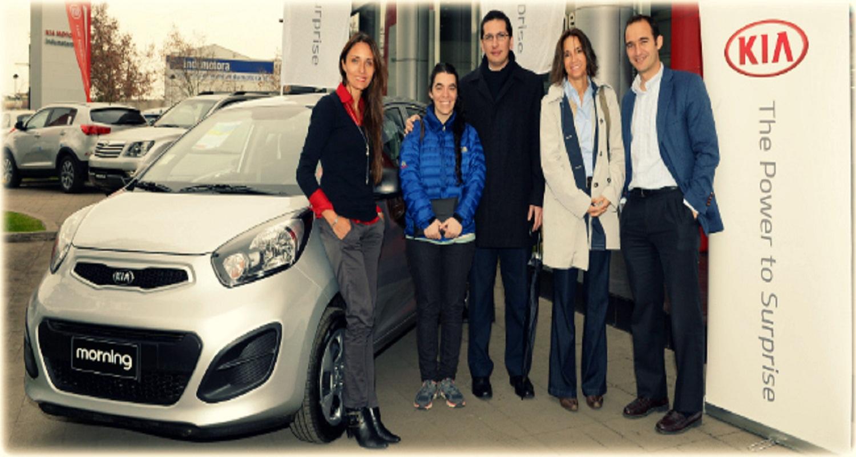 Bingo Mater 2014: felices los dueños del Kia Morning