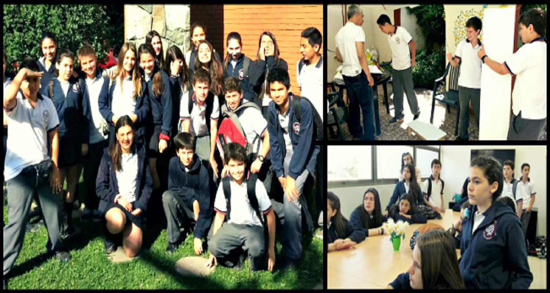 Colegio San Francisco Javier (Huechuraba) visita MATER