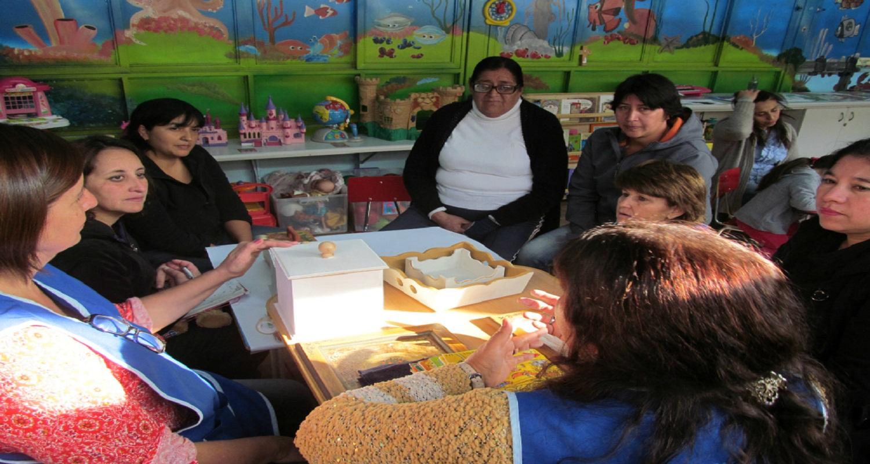 2° Taller de voluntarias y madres de niños Mater