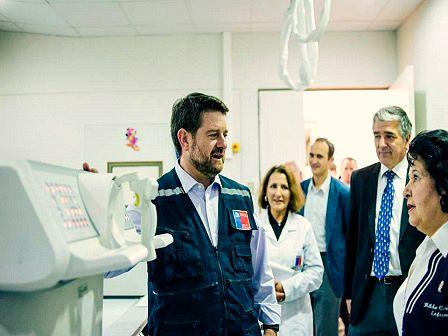 Intendente Metropolitano visita Corporación MATER