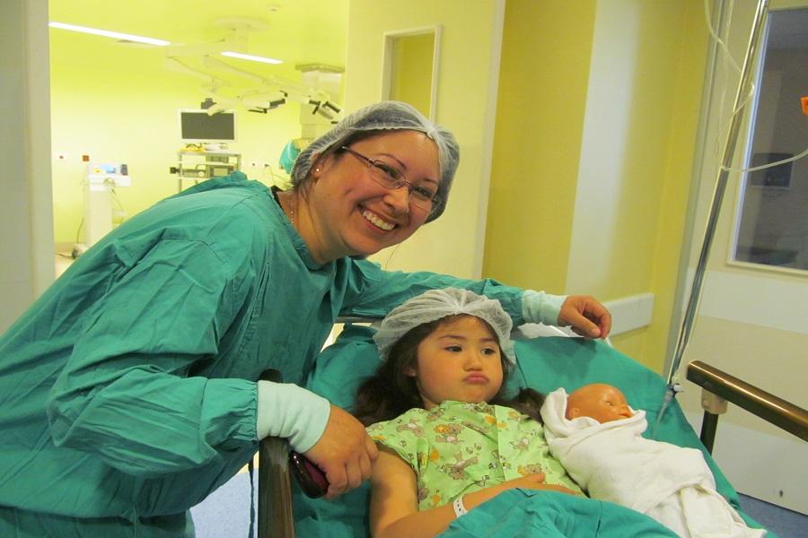 Operativo en Hospital de San Carlos