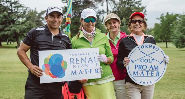 Con gran convocatoria se realiza Torneo de Golf en ayuda de los niños de MATER