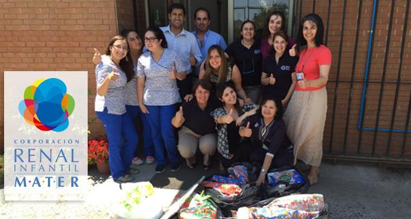 Trabajadores de MATER donan regalos a Casa Belén