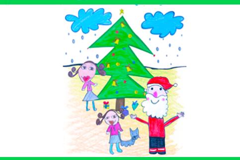 "Thumbnail - Ganadores del Concurso ""Dibuja la Navidad con MATER"""