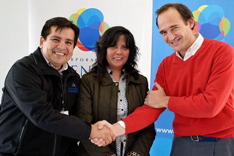 Thumbnail - Corporación MATER y Municipalidad de Pudahuel firman convenio