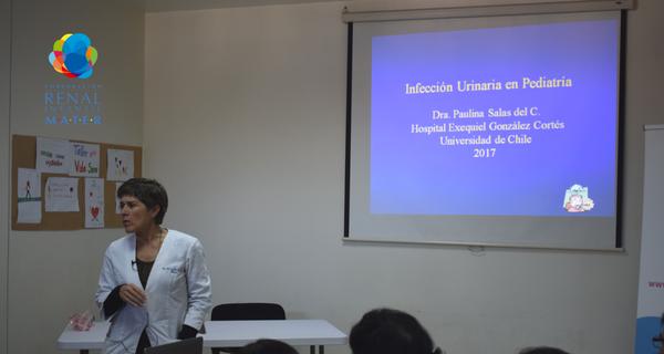 Capacitamos a médicos de San Miguel en infección urinaria pediátrica