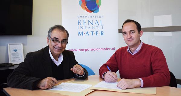 Cesfam de Fundación Cristo Vive y MATER cierran acuerdo para derivación de pacientes