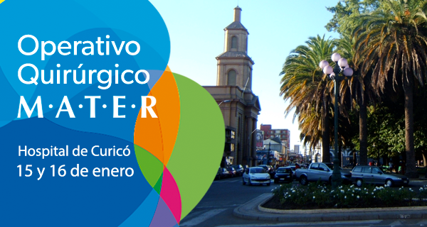 Corporación MATER realizará segundo operativo quirúrgico en Curicó