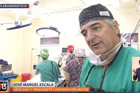 Thumbnail - Canal 13 destaca nuestros operativos quirúrgicos