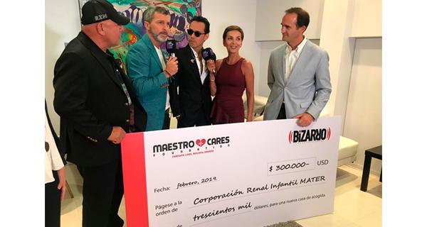 Fundación de Marc Anthony ayuda a construir casa de acogida MATER