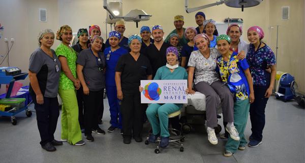 Más de 700 cirugías ha realizado Corporación MATER en regiones