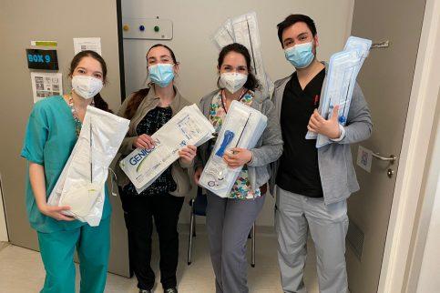 Thumbnail - Technomed dona insumos quirúrgicos a Corporación MATER